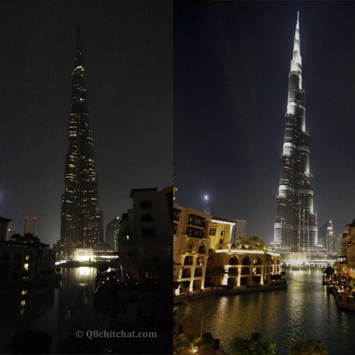 burj khalifa earth hour