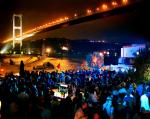 Reina Restaurant & Nightclub under the Bosphorus bridge